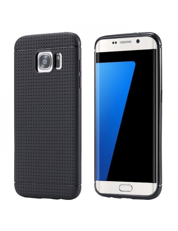 Coque silicone Samsung Galaxy S7 Edge Gel Noir