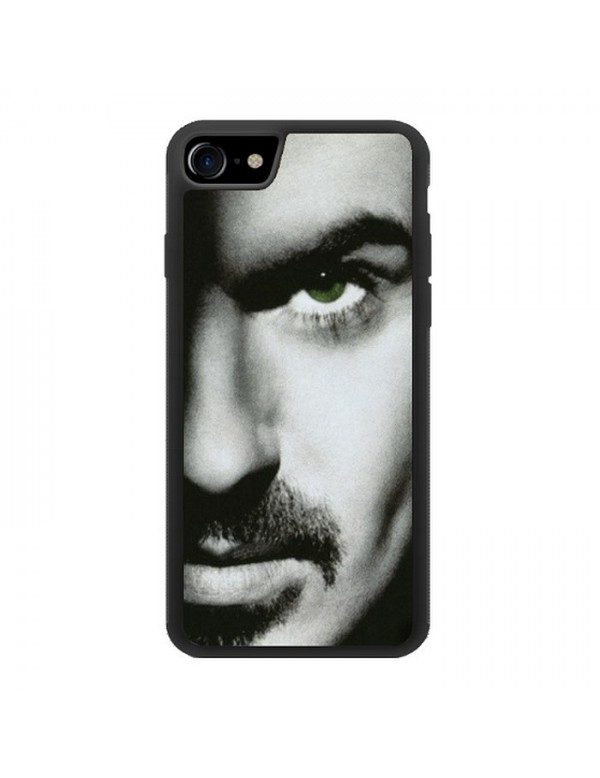 Coque 2D iPhone 7/8 - Visage George Michael