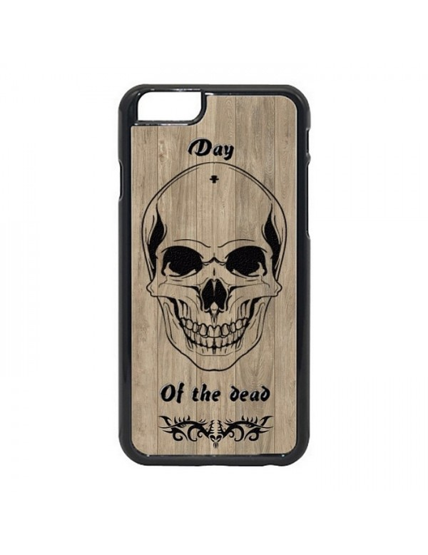 Coque iPhone 7/8 - Tête de mort tribal