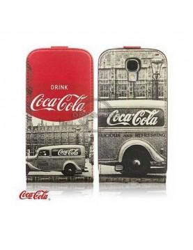 Étui à clapet Galaxy S4 Coca cola