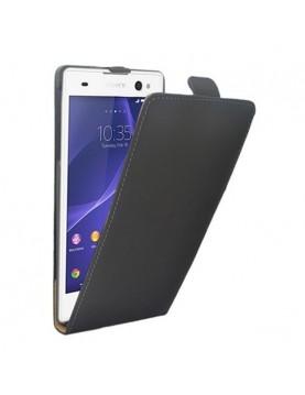 étui-clapet-noir-Sony-Xperia-Z3-compact-mini