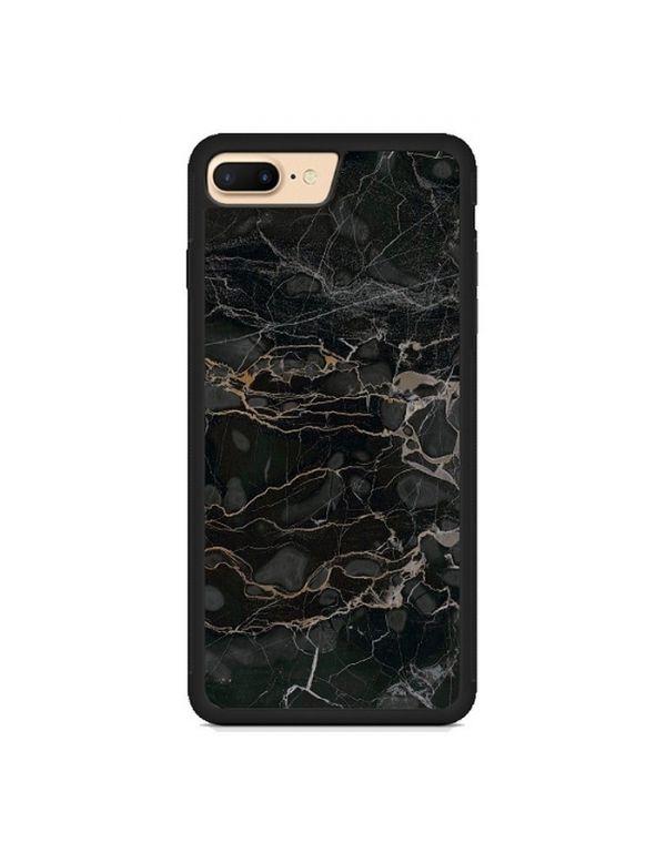 Coque effet Marbre noir pour iPhone 7/8