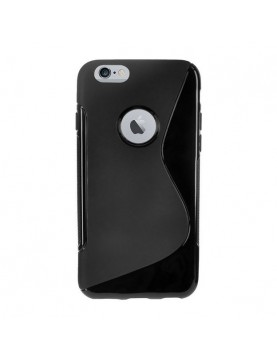 Coque iPhone 6 Plus/6S Plus - Grip Flex noir translucide