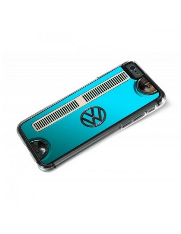 iPhone 6 plus Combi Volkswagen bleu