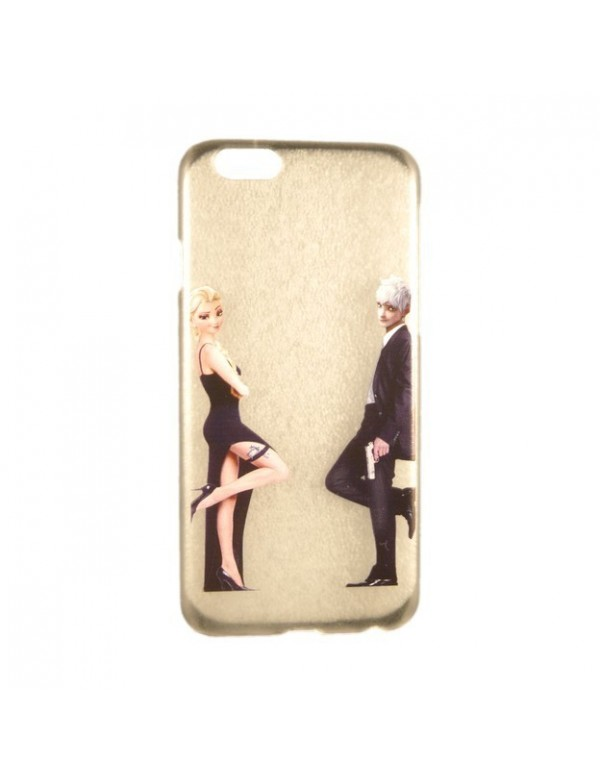 iPhone 6 plus/6S plus Coque rigide Elsa la reine des neiges