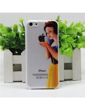 Coque rigide translucide iPhone 6plus/6S plus Blanche neige