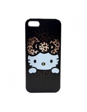 Coque iPhone 6 plus/6S plus Hello Kitty marron