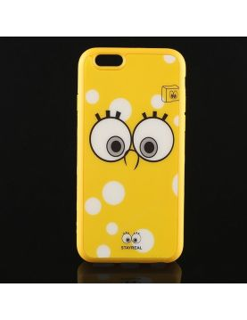 Coque silicone iPhone 6 Plus 6S Plus Bob l'éponge