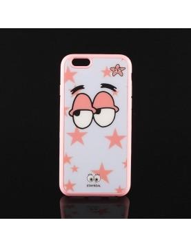 Coque souple rose Patrick étoile de mer Bob l'éponge pour iPhone 6 plus et 6S Plus