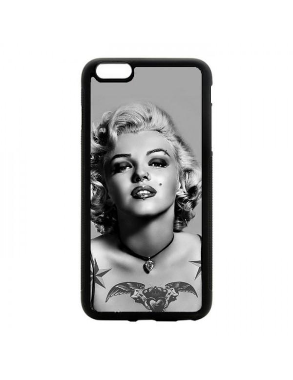 Coque iPhone 6/6S Plus Marylin Monroe Noir et blanc