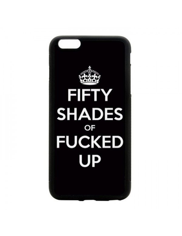 "Coque iPhone 6 Plus 6S Plus 5.5"" Fifty shades of Fucked up"