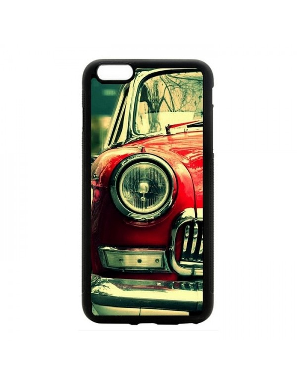 Coque iPhone 6 PLUS/6S PLUS - Belle américaine rouge de Cuba Chevrolet