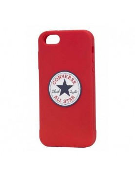 Coque-silicone-rouge-licence-officielle-Converse-iPhone-6-6S