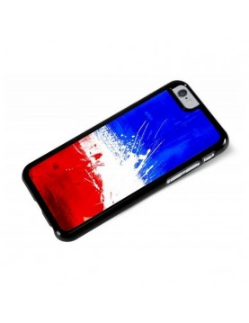 Coque iPhone 6/6S - Drapeau France Grunge