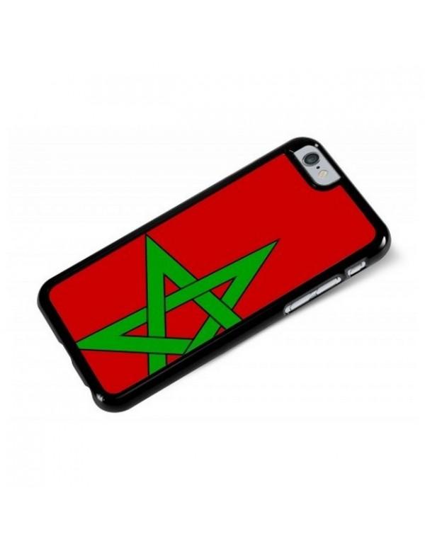 Coque iPhone 6/6S - Drapeau Maroc Grunge