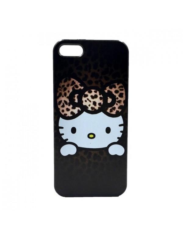 Coque iPhone 6/6S Hello Kitty marron