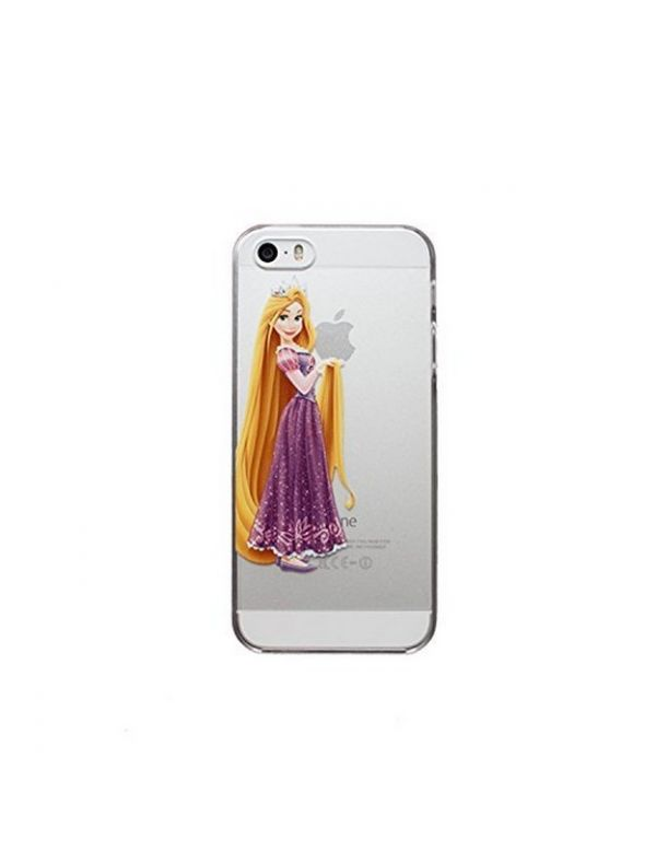 Coque rigide translucide iPhone 6/6S - Princesse Raiponce