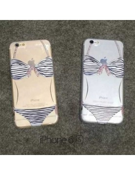 Coque silicone  iPhone 6/6S - Maillot de bain