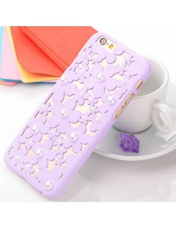 Coque rigide iPhone 6/6S - Violette orn