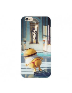 Coque silicone iPhone 6/6S - Minion en string