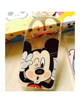 Coque silicone iPhone 6/6S - Mickey mousse