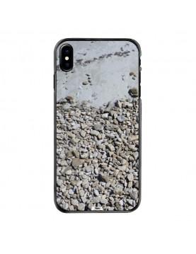 coque-iPhone-x-motif-cailloux-plage