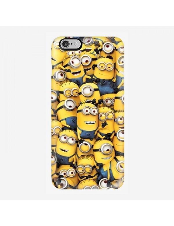 Coque iPhone 6/6S - La famille des Minions