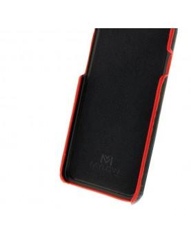 Coque Mylow Design pour Samsung Galaxy S8 Plus - Cuir Noir