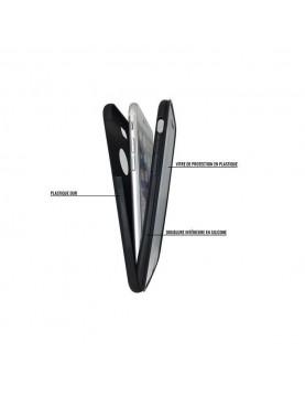 Coque Mylow Design iPhone 7 Plus/8 Plus - 360° - Noir