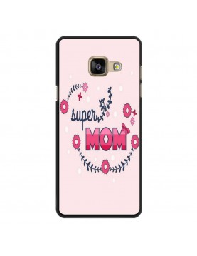 Coque-Rigide-Samsung-Galaxy-A3-2017-Super-Mom-Rose-Super-Maman