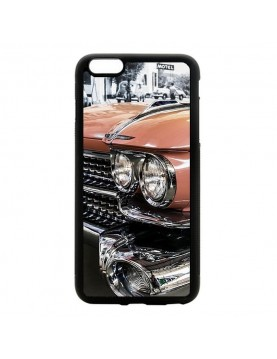 Coque rigide iPhone 6/6S - Cadillac rose de Cuba