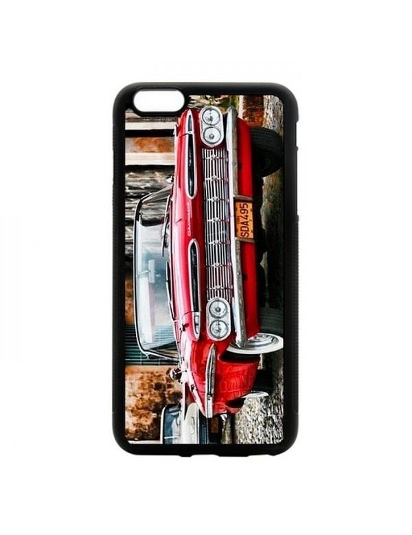 Coque rigide iPhone 6/6S - Chevrolet rouge de Cuba