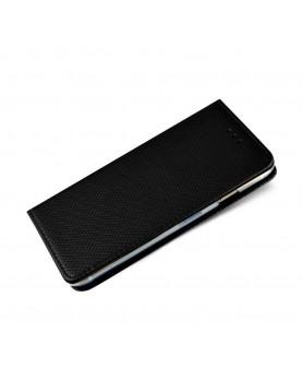 Etui portefeuille noir pour Samsung Galaxy S9 Plus - Smart magnetic