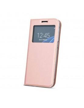 Étui Flip Cover Rose pour Samsung Galaxy S9