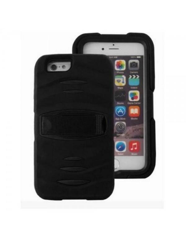 Coque Housse antichoc noir iPhone 5/5S/SE