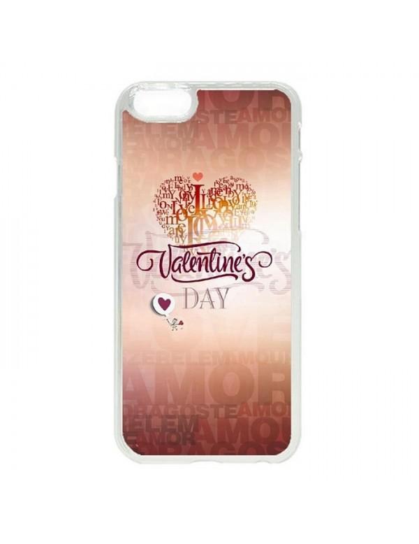 Coque rigide iPhone 6/6S - Valentin's day coeur