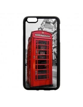 Coque rigide iPhone 6/6S - Londres cabine téléphonique rouge.