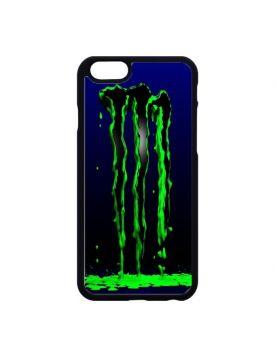 Coque rigide iPhone 6/6S - Monster vert fluo