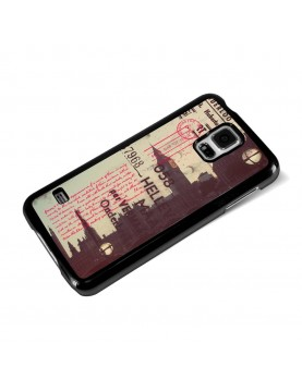 Coque rigide pour Samsung Galaxy S5 au look Vintage - Londres - Big ben