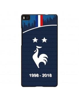 coque-Huawei-P8-football-champion-du-monde-2018-Domicile-Maillot-Bleu