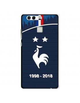 coque-Huawei-P9-football-champion-du-monde-2018-Domicile-Maillot-Bleu