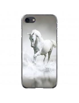 Coque-rigide-iPhone-7-8-cheval-blanc-mer