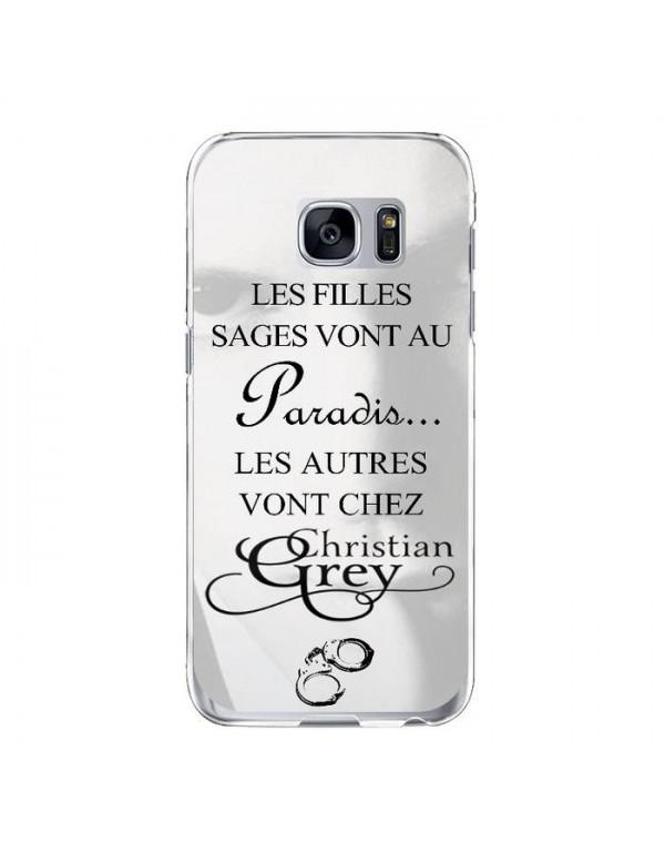 Coque rigide Samsung Galaxy S7 - Christian Grey - Menottes