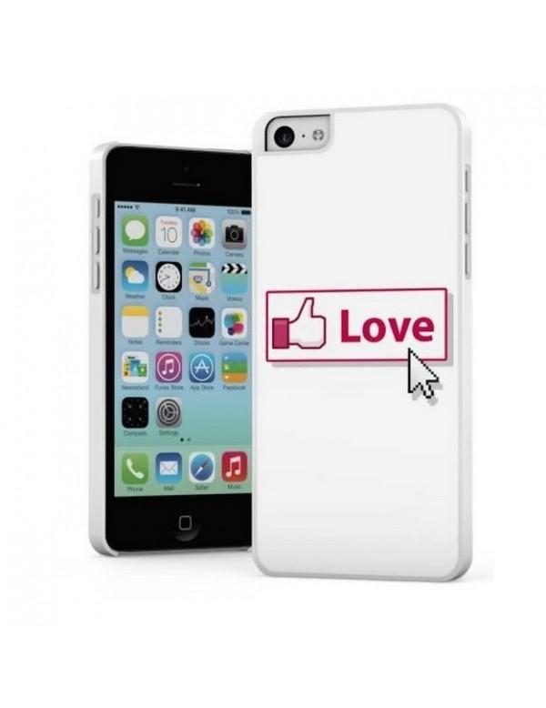 Coque rigide iPhone 5C Love