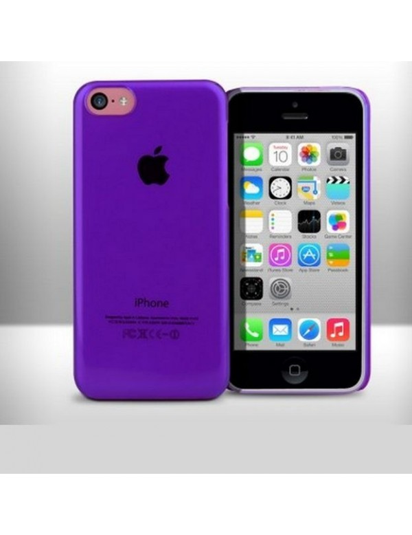iPhone 5C coque rigide Violet Translucide