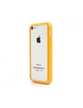 Bumper silicone iPhone 5C- Jaune