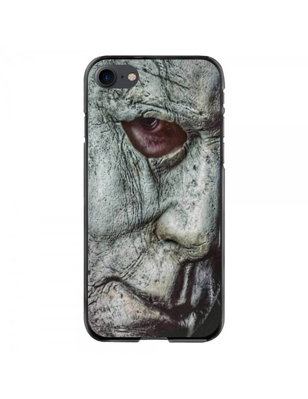 Coque iPhone 7 et 8 - Visage Masque Mickael Myers Halloween