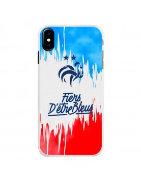 Champion-du-Monde-2018-et-Fiers-Coque-iPhone-X-XS