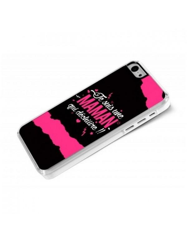 Coque iPhone 5C Maman qui dechire
