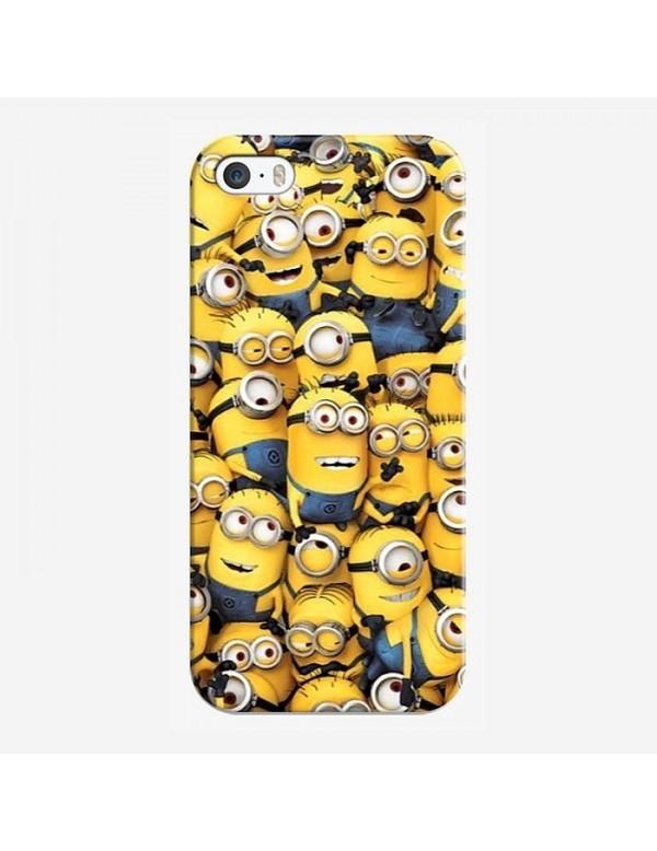 Coque iPhone 5C  la famille Minions